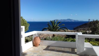Photo for Charming Private Home with Beautiful Views to Karavi Beach