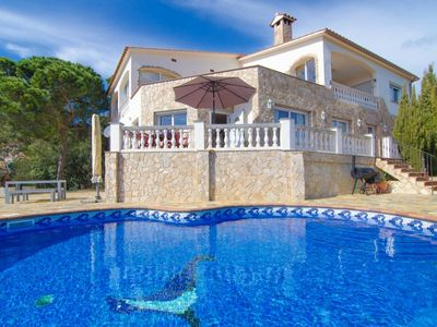 Photo for Club Villamar - Modern apartment in villa with a nice exterior area with private pool and impress...