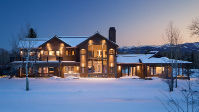 Photo for Stunning, spacious 4 bedroom villa with expansive Teton views