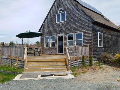 Photo for Beautiful Cape style cottage nested along the Jordan Tidal River