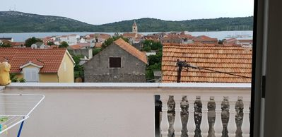 Photo for One bedroom apartment with terrace and sea view Pirovac, Šibenik (A-15271-c)