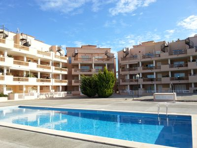 Photo for Nice and comfortable apartment with pool Cala Bona Mallorca near Cala Millor