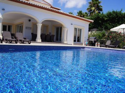 Photo for Moraira Luxury Spacious Villa with Private Infinity Pool, easy walk in to town