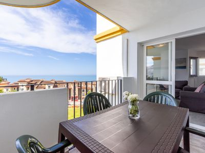 """Photo for Air-Conditioned Apartment """"2º Linea Playa Torrequebrada"""" with Pool, Terrace & Wi-Fi; Parking Available"""