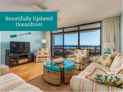 Photo for Irene 301 - Beautifully-Updated Oceanfront w/ Pool!