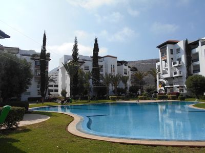 Photo for Lovely two bedroom apartment in Marina Agadir Ref: T2433