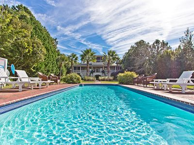 Photo for Luxury Waterfront Estate with Private Pool, Personal Gym, Game Room, and more!