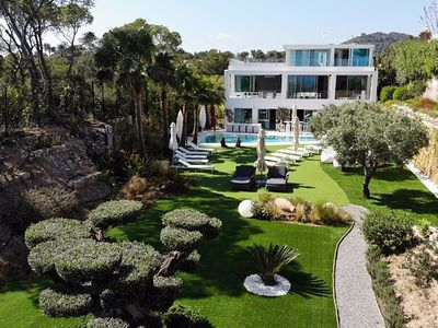 Photo for Luxury Villa Tiger in Ibiza, with 6 bedrooms, private pool.