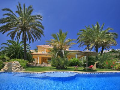 Photo for Sea view - exclusive luxury villa - private infinity pool - deluxe outdoor spa