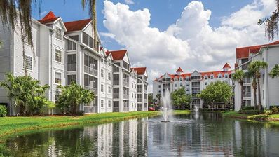 Photo for Lakefront Resort 3BR w/ Pools, Beach, Watersports, WiFi  & 2 Miles From Disney!