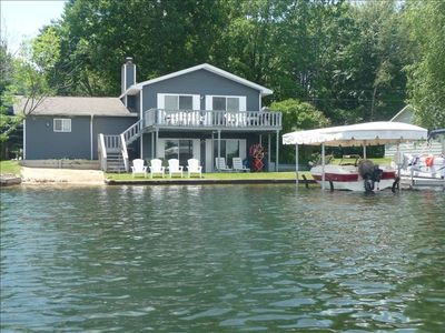 Private Dock & Lift, Firepit, Deck, Sandy Bottom, Mini Beach, Walkout, Grass