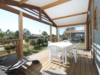 Photo for Prestige chalet for 5 people in Nature and Ocean Park