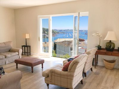 Photo for Trevarrick is a spacious refurbished house with grandstand views across Falmouth Harbour