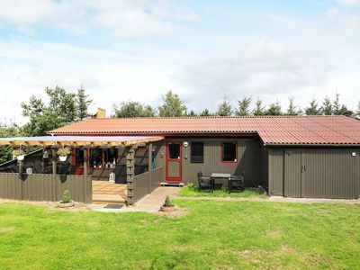 Photo for Quaint Holiday Home in Blokhus with Roofed Terrace