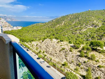 Photo for A868 - Nice apartment with a sea view in front the mountain