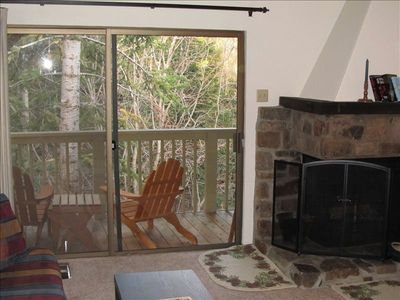 Photo for Tidy, Cozy 1BR+Loft Kingswood Village Townhouse in North Tahoe