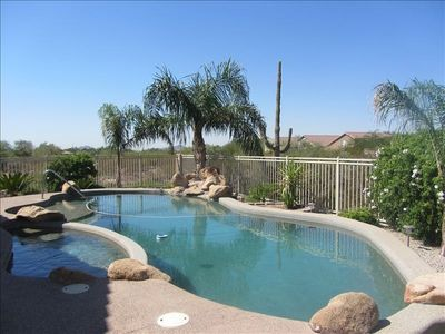 Photo for Pristine Secluded Oasis in the Desert! Private Pool-Golf Course Community