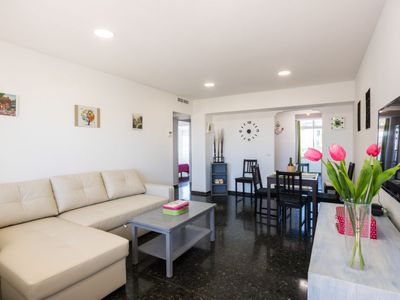 Photo for Torremolinos Apartment, Sleeps 4 with Air Con and Free WiFi