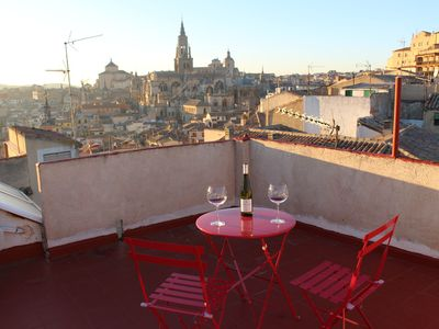 Photo for House with Toledo patio and terrace with views