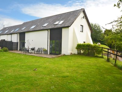 Photo for From £14 pppn. A beautiful converted 400-year-old threshing barn. Pet-friendly.