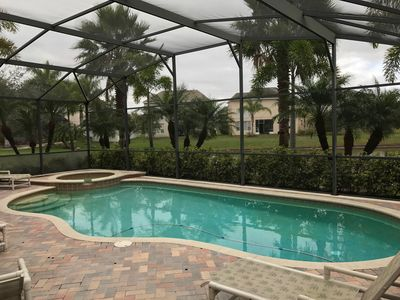 Florida vacation home, 15 miles to disney, private pool, 5 BR, 3.5 BA