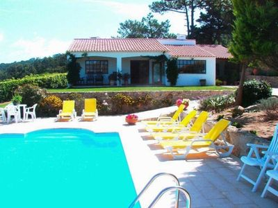 Photo for Holiday house with garden and private heated pool near the beach