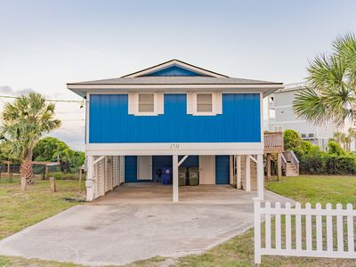 Photo for Completely renovated, beachfront home, sleeps 7!