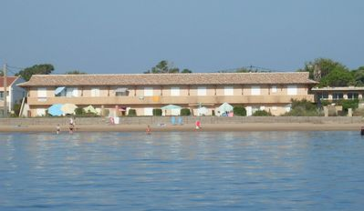 Photo for Waterfront studio facing the Golden Islands, funboard, Bergerie Almanare