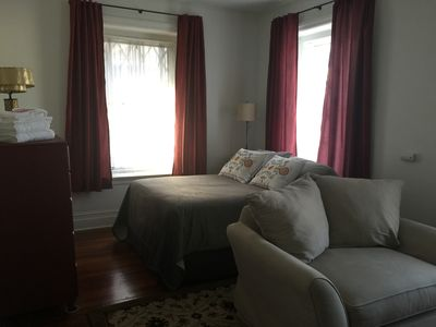 Photo for Studio B - Apartment w queen bed & kitchenette in NW Philadelphia