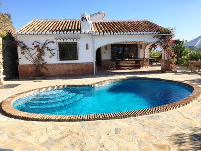 Photo for Finca Higueron with private pool for 6 people and fantastic views