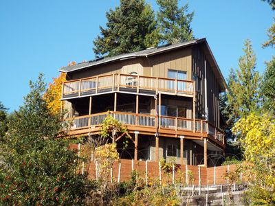 Photo for FALL SPECIAL book 3 pay for 2!* The Deckhouse and Gameroom, Water Views, Hot Tub