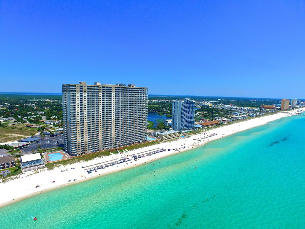 Panama City Beach Condo Al Tidewater Resort In 1