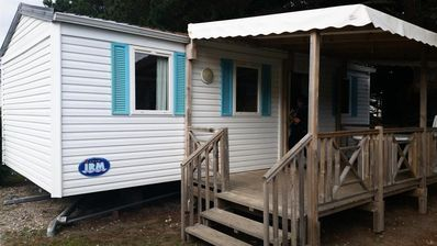 Photo for Camping Hermitage *** - Mobil Home Comfort 4 Rooms 6/8 People