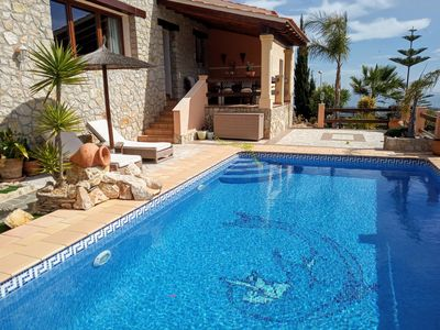Photo for Large villa with private pool and fantastic panoramic views