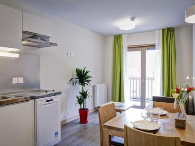 Photo for Surface area : about 33 m². 3rd floor. Orientation : East. Living room with bed-settee