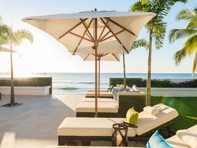 Photo for Mirador, luxury beachfront villa