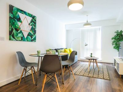 Photo for Modern design 1 bedroom apartment in the city centre