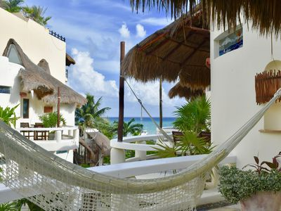 Photo for Amazing, ocean view suite in the heart of Playa del Carmen.