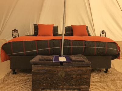 Photo for Glamping Tent Pachamama Moon