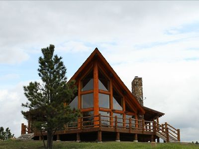 Amazing Rustic Chalet Atop Black Hills Near Devils Tower Wy