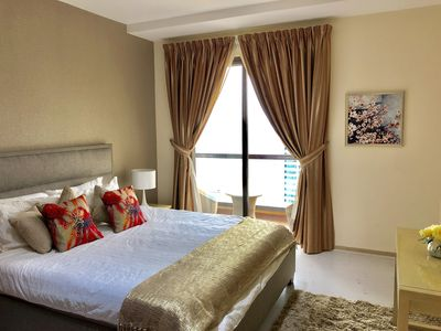 Photo for The Residence at JBR,  beautiful two bedroom apartment on the 42ND floor.