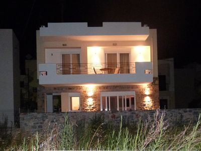 Photo for Private 2 bedroom villa with small pool in the centre of Elounda