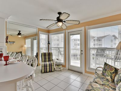 Photo for Beachcombers Paradise- poolside condo at the beach 1216