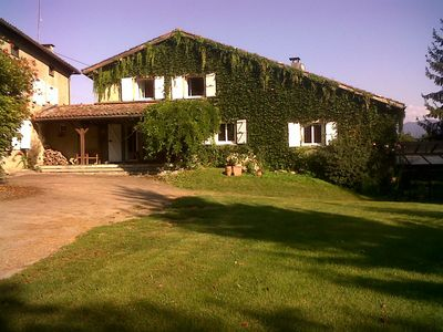 Photo for REMAINS ARIEGEOISE 5 MINUTES FROM SAINT GIRONS WITH POOL AND SAUNA