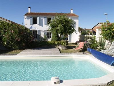 Photo for Oléronnais style house with swimming pool