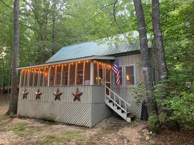 Photo for Charming Mountain Cabin plus Community Dock with Lake Burton Access!