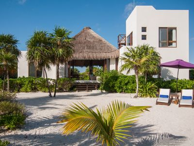 Photo for Secluded Beachfront Villa in Sian Ka'an, Tulum