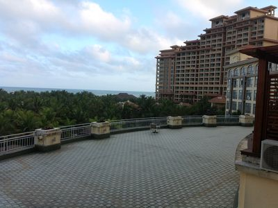 Photo for New Ocean Front Studo 4th floor provides awesome views, easy access to ocean