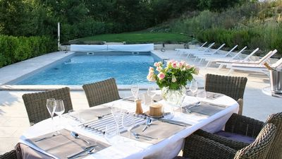 Photo for Luxury French House with Air Con, Large Private Pool, WiFi and Great Facilities