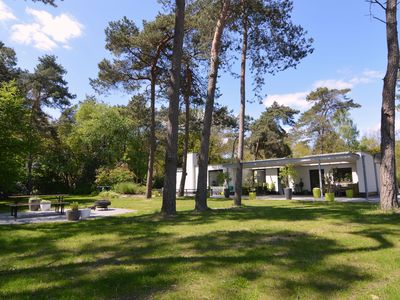 Photo for Beautiful modern villa, with huge forest garden of 5000m2